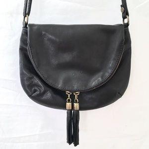 🆕Vera Pelle Italian Leather Crossbody Bag